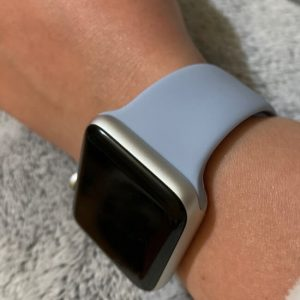 Bright Sports Apple Watch Band Lilac