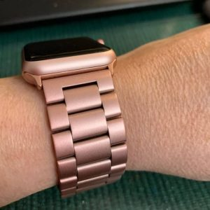 Apple Watch Bands - Stainless Steel Band Rose Gold Series 5 4 3 2 1 38mm 40mm 42mm 44mm
