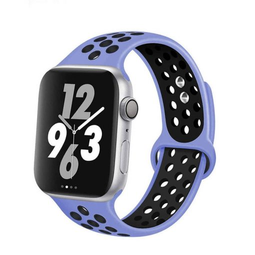 Apple Watch Bands - Breathable Sports Apple Watch Band Royal Pulse Black Series 6 SE 5 4 3 2 1 38mm 40mm 42mm 44mm