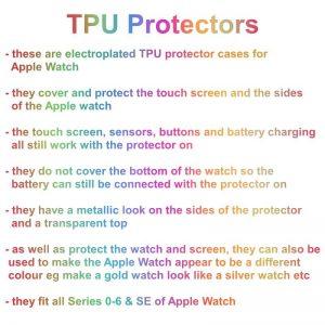 Apple Watch Soft TPU Case Protector - Info