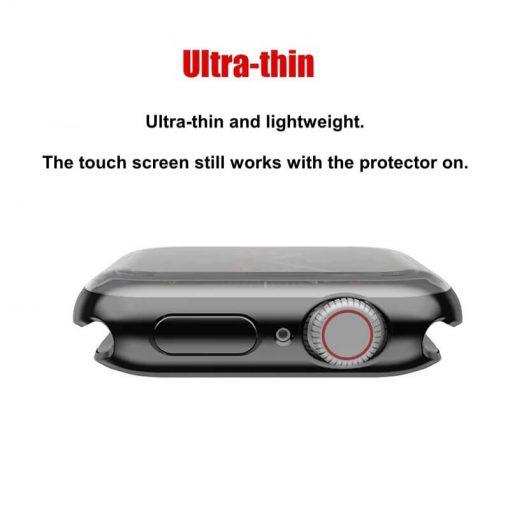 Apple Watch Soft TPU Case Protector - Black