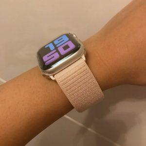 Sport Loop Apple Watch Band - Pearl Pink