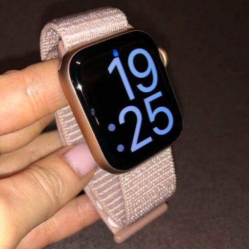 Sport Loop Apple Watch Band - Rose Pink