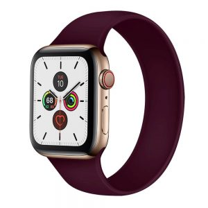 Solo Sports Loop Apple Watch Band - Wine Red