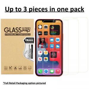 iPhone 12 Tempered Glass Screen Protector