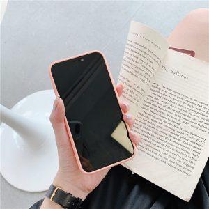 iphone 12 case Peach