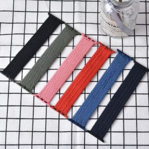 Braided Solo Loop Apple Watch band 40mm 44mm All Series