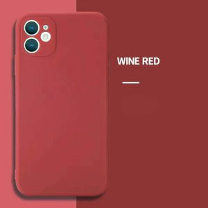 iphone 12 case Wine Red