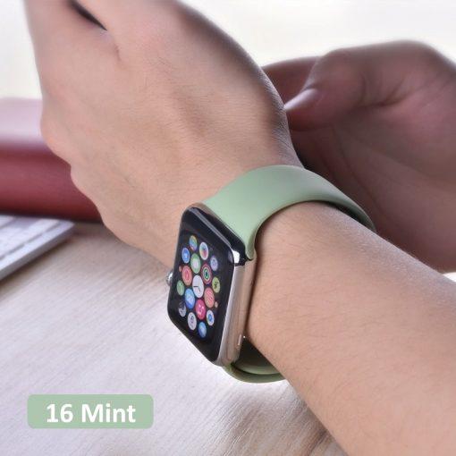 Bright Sports Apple Watch Band Mint