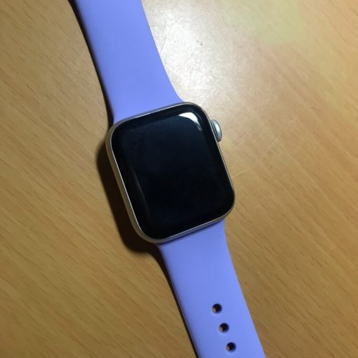 Bright Sports Apple Watch Band Lavender