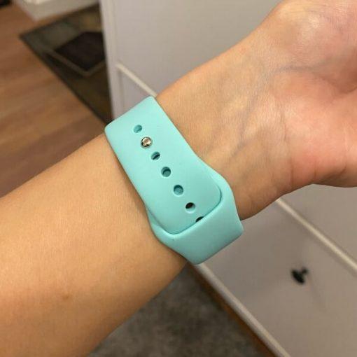 Bright Sports Apple Watch Band Marine Green