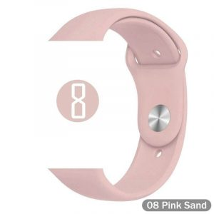 Bright Sports Apple Watch Band Pink Sand