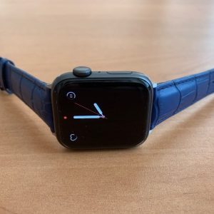 Apple Watch Bands - Casual Leather Band Straps Blue Series 1 2 3 4 5 38mm 40mm 42mm 44mm