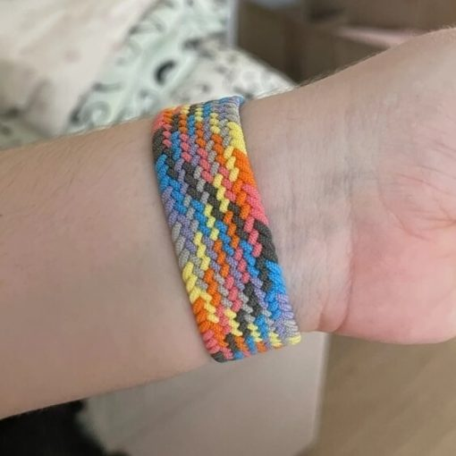 Braided Loop Apple Watch band - Colourful 40mm 44mm All Series