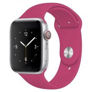 Bright Sports Apple Watch Band 49 Dragon Fruit