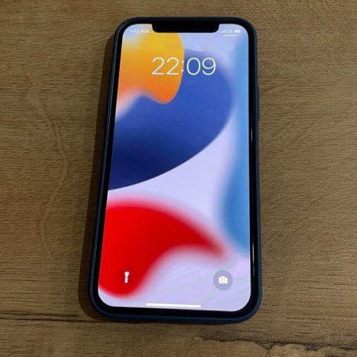 iPhone 12 Colour Impact Protective Case – Sapphire Blue