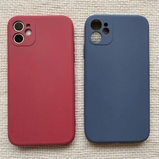 iPhone 11 Colour Impact Protective Case – Wine Red and Sapphire Blue