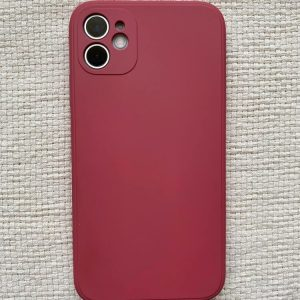 iPhone 11 Colour Impact Protective Case – Wine Red